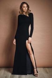 Agatha crepe gown